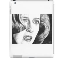 Dana Scully- Pusher (with tear) iPad Case/Skin