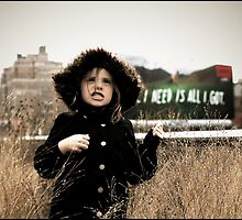 I Love The High Line by Melinda  Ison - Poor