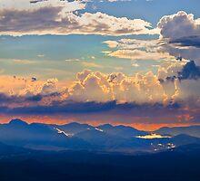 Thunder over Mount Warning by Andrew Brooks