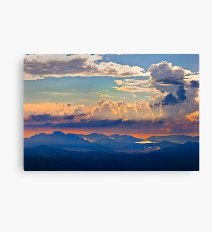 Thunder over Mount Warning Canvas Print