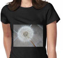 Through The Fence - Dandelion  Womens Fitted T-Shirt