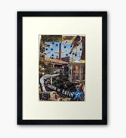 Garden of Eatin' Framed Print