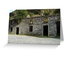 Ruin at the Gap of Dunloe - Killarney, Kerry, Ireland Greeting Card