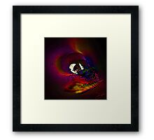 Can't Say Hello-Can't Say Goodbye-I'm Late Framed Print
