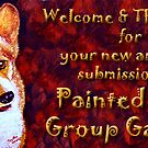 Painted Dogs Banner by sesillie
