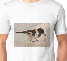 Pied Butcher Bird (Cracticus Nigrogularis) Unisex T-Shirt