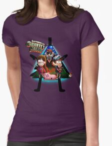 Gravity falls Womens Fitted T-Shirt