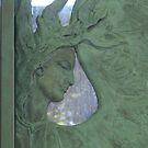 Pere Lachaise, Paris - family crypt detail by BronReid