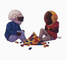 Daft Punk - Lego by MaliceZz