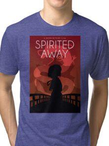 Spirited Away Movie Poster Tri-blend T-Shirt