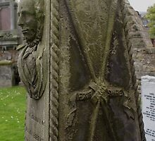 St Andrews Cathedral graveyard, Scotland by BronReid