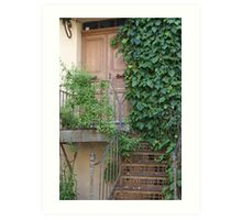 Ramatuelle, Provence, France, another pretty doorway Art Print