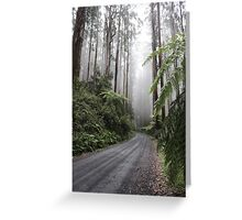 Over the top of Acheron Way Greeting Card