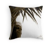 A penny for his thoughts... Throw Pillow