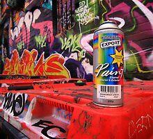 Graffiti tool by Hans Kawitzki