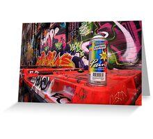 Graffiti tool Greeting Card