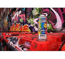 Graffiti tool Photographic Print
