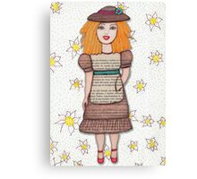 Gloria Doll to Length  Canvas Print