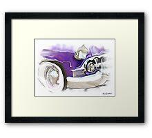 1950s Buick  Framed Print