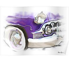 1950s Buick  Poster