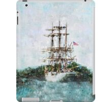 Coast Guard Cutter Eagle vintage grunge style iPad iPhone cover iPad Case/Skin
