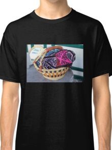 Basket of Knitted Things Classic T-Shirt