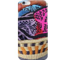 Basket of Knitted Things iPhone Case/Skin