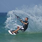 Kite Surfer at Hams by Rochelle Buckley