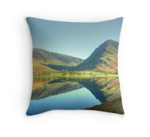 Buttermere in November Throw Pillow