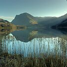 Buttermere in December by Jamie  Green