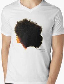WORLDWIDE UNDERGROUND Mens V-Neck T-Shirt