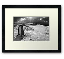 On Cleeve Hill Framed Print