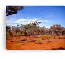Back of Bourke Canvas Print