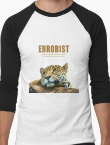 Errorist Men's Baseball ¾ T-Shirt