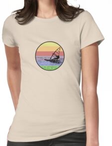 Windsurfing Womens Fitted T-Shirt