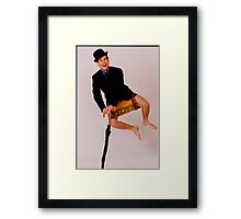 The Comedian Rob Callaghan Framed Print