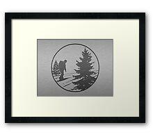 Hiking Framed Print