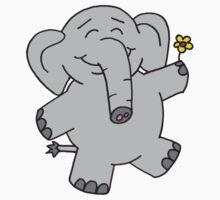 Flower Elephant Kids Clothes