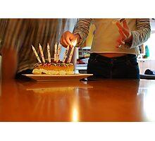 Happy Birthday to You Photographic Print