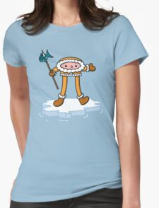 eskimo pi Womens Fitted T-Shirt