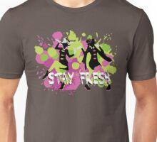 Splatfest Explosion Girls - Stay Fresh  Unisex T-Shirt