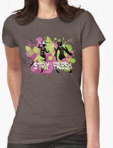 Splatfest Explosion Girls - Stay Fresh  Womens Fitted T-Shirt