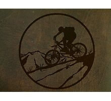 biking Photographic Print