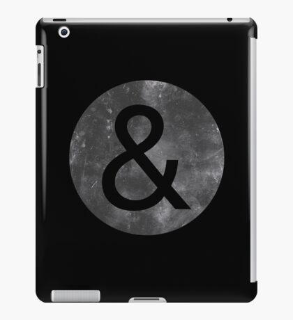 Helvetica Neue Ampersand iPad Case/Skin