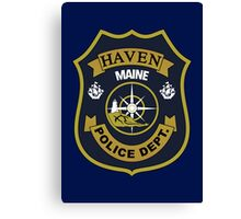 Haven Police Department Canvas Print