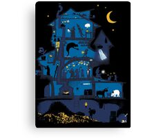 Wizard's Tower Canvas Print