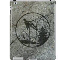 rockclimbing iPad Case/Skin