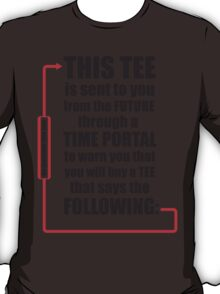 Time Travel Tee T-Shirt