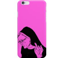 Sister Jude Middle Finger iPhone Case/Skin