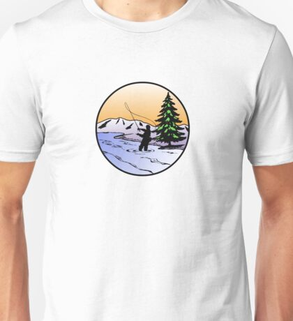 fly fishing Unisex T-Shirt